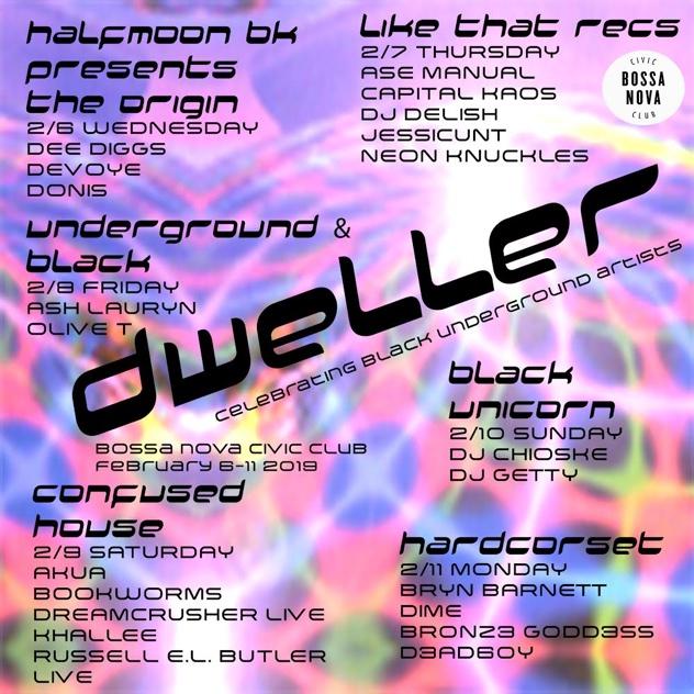 RA News: Bossa Nova Civic Club announces dweller, a festival
