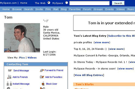 RA News: Myspace loses 12 years worth of music
