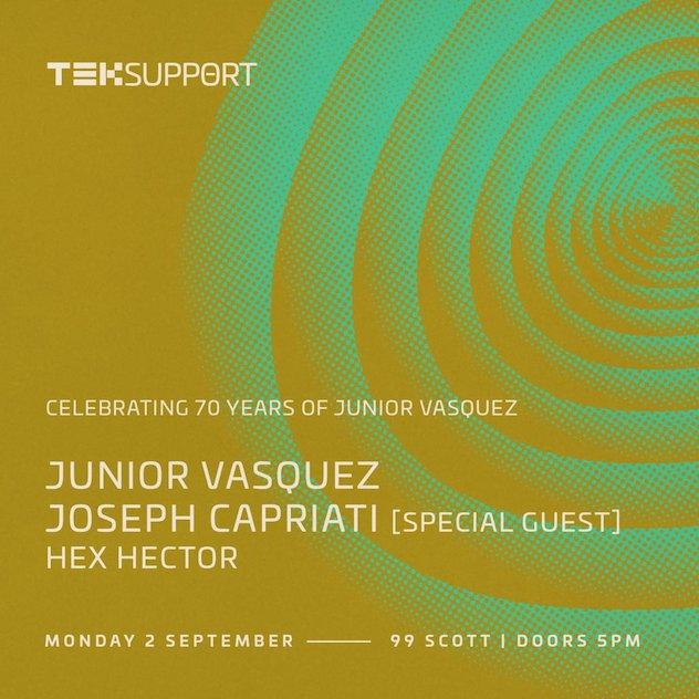 RA News: Junior Vasquez to celebrate his 70th birthday with ...