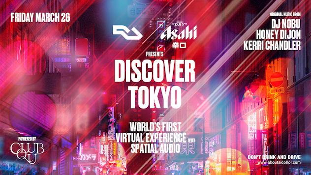 RA and Asahi Super Dry present Discover Tokyo, a virtual experience using  spatial audio · News ⟋ RA