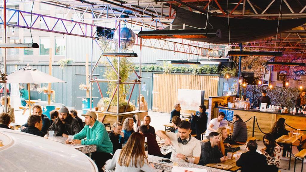 Hackney venue HWK launches open-air terrace, The Lot image