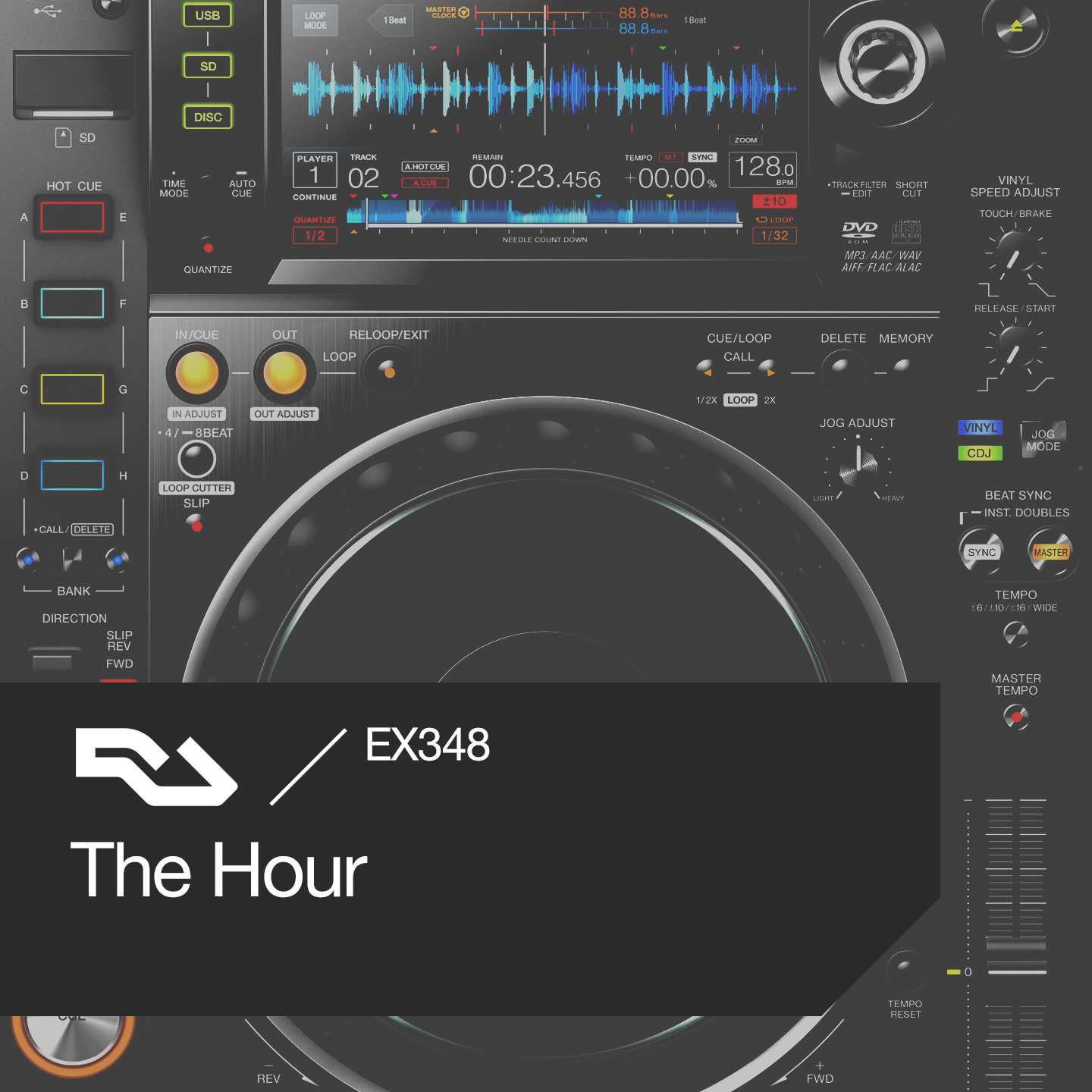 EX.348 The Hour: CDJ tips, Special Request, 'Black Water'