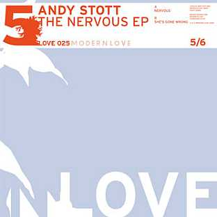 Andy Stott - The Nervous EP