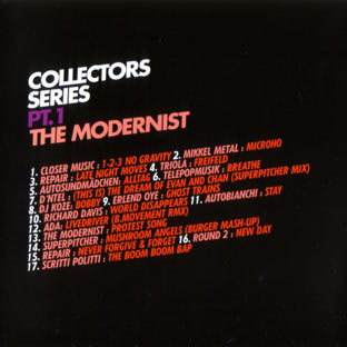 The Modernist: Collectors Series Pt. 1 - Popular Songs