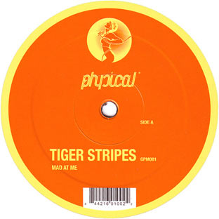Tiger Stripes - Mad At Me cover