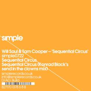 Will Saul & Tam Cooper - Sequential Circus
