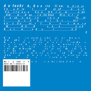 RA Reviews: Autechre - Quaristice on Warp ...