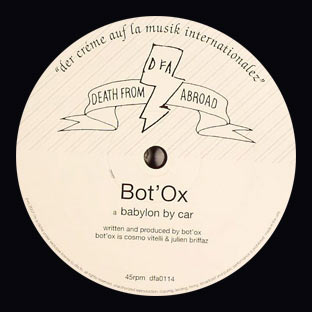 Bot'Ox - Babylon By Car