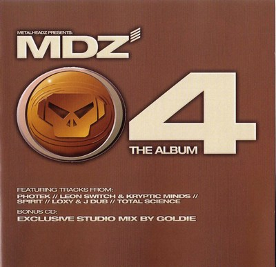 Metalheadz presents MDZ.04 - Mixed by Goldie