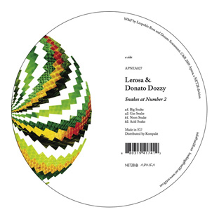 Lerosa & Donato Dozzy - Snakes At Number 2
