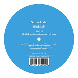 Naum Gabo - Black Lab