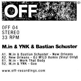 M.in, YNK & Bastian Schuster - New Orleans EP
