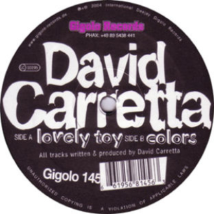 David Carretta - Lovely Toy / Colors