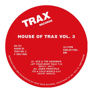 Various Artists - House Of Trax Vol. 3