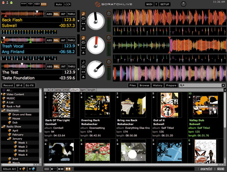 serato library management