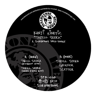 Kanji Kinetic - Thrill Seeka EP