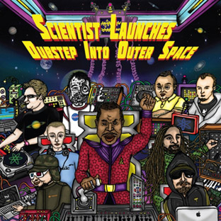 Various Artists - Scientist Launches Dubstep Into Outer Space cover