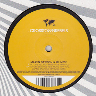 Martin Dawson & Glimpse - No One Belongs Here More Than You