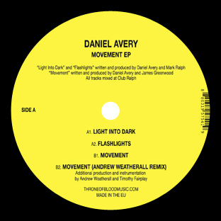 Daniel Avery - Movement EP