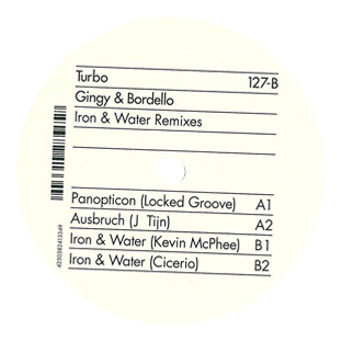 Gingy & Bordello - Iron & Water Remixes cover