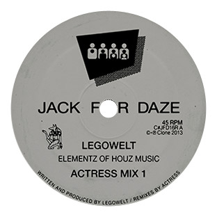Legowelt - Elementz Of Houz Music (Actress Mixes)