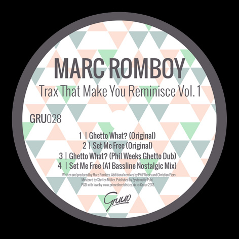 Marc Romboy - Trax That Make You Reminisce Vol.1