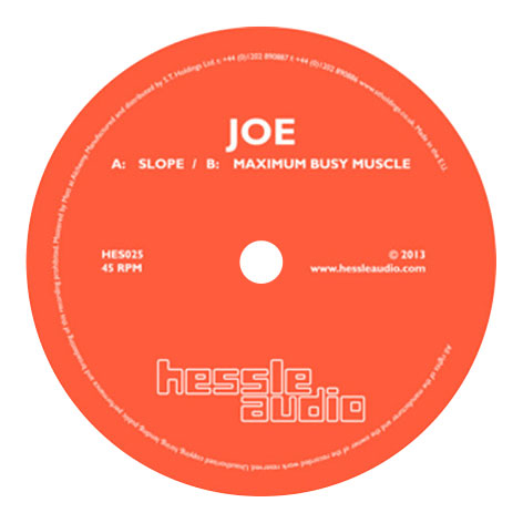 Joe - Slope / Maximum Busy Muscle