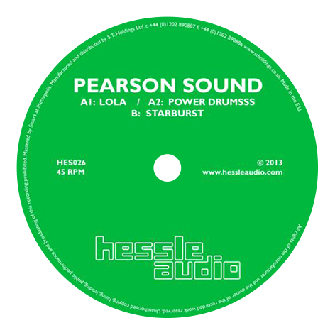 Pearson Sound - HES026