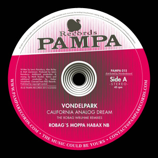 Vondelpark - California Analog Dream (Robag Wruhme Remixes)