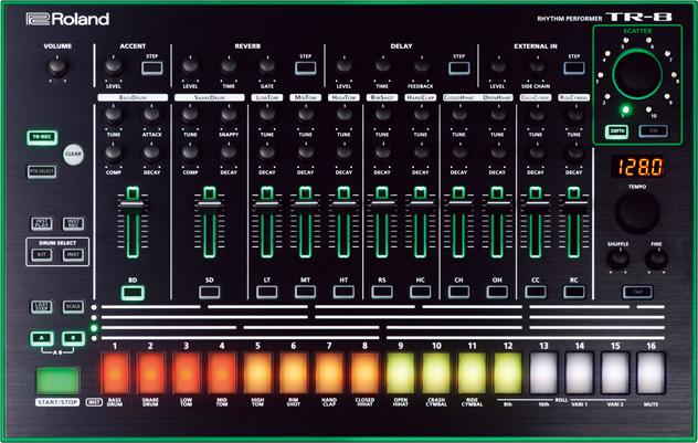 RA Reviews: Roland - AIRA TR-8 (Tech)