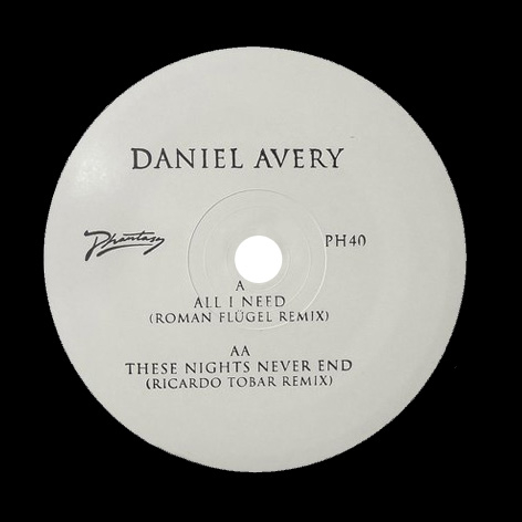 Daniel Avery - All I Need / These Nights Never End (Remixes)