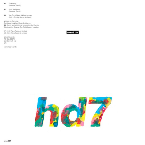 Darkstar – HD7 (Cult & Zomby Remix)