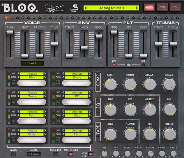 RA Reviews: Sample Magic - Bloq (Tech)