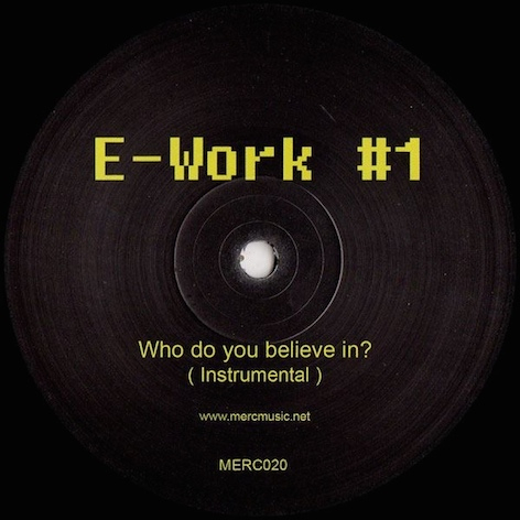 E­-Work #1 - Who Do You Believe In?