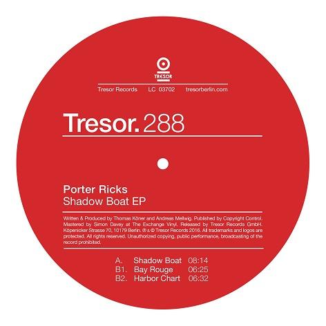 Ra Reviews Porter Ricks Shadow Boat Ep On Tresor Single