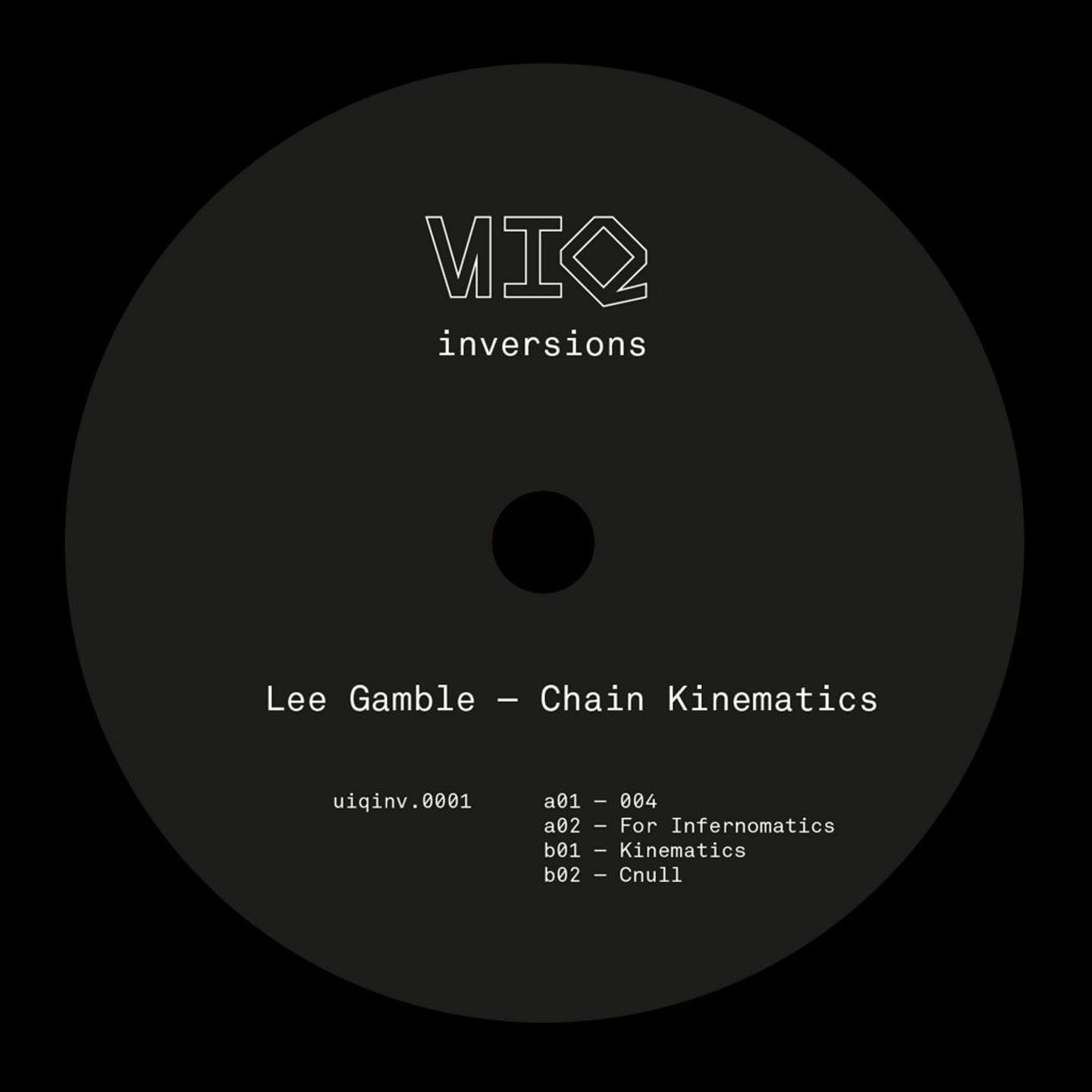 Lee Gamble - Chain Kinematics