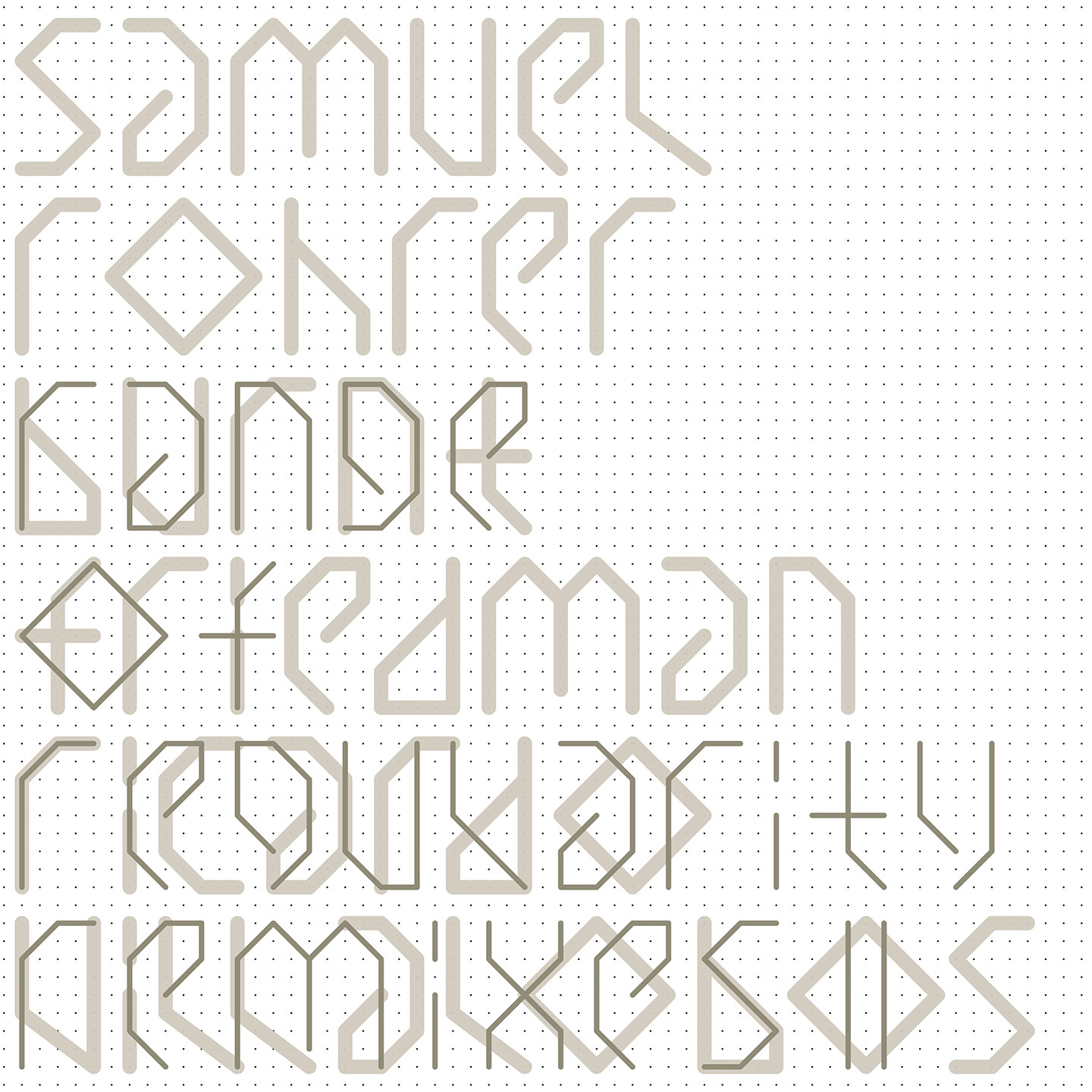 Samuel Rohrer - Range Of Regularity Remixes Volume 2