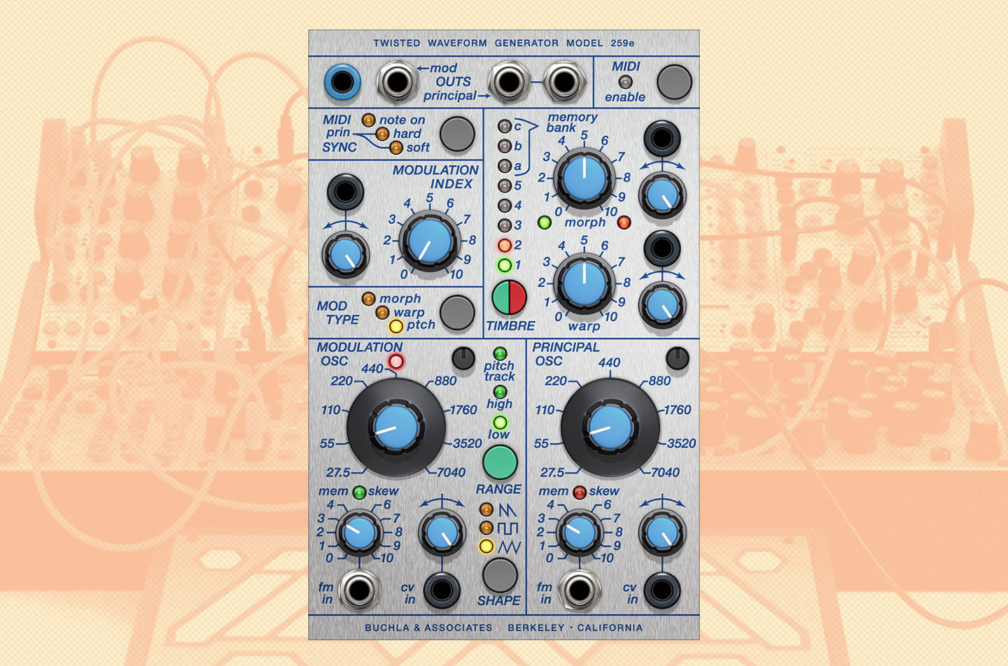 Softube - Buchla 259e Twisted Waveform Generator