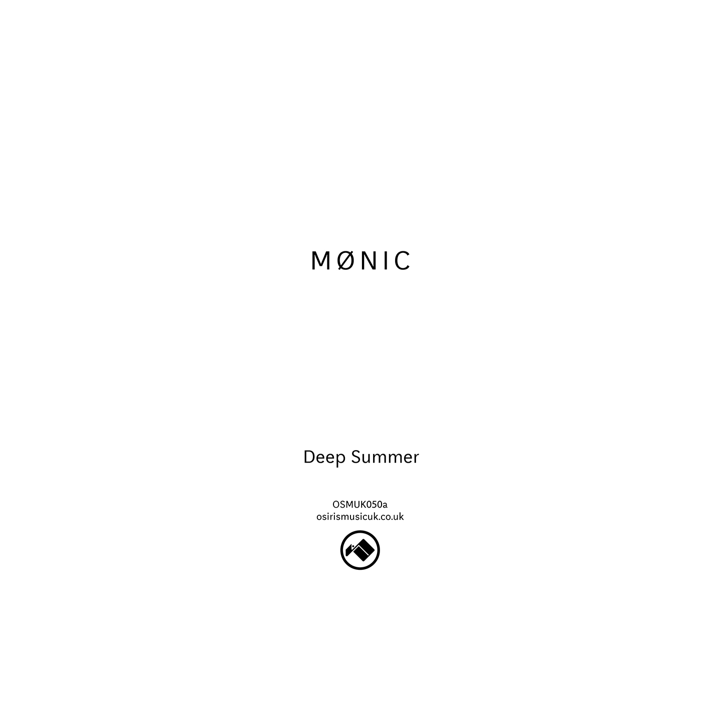 Mønic - Deep Summer / Regret Was Never So Sure
