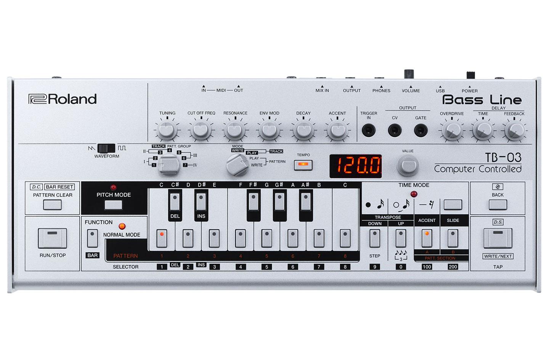 RA Reviews: Roland - TB-03 Bass Line (Tech)