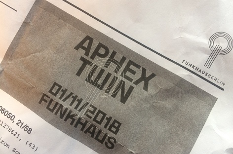 Aphex Twin at Funkhaus Berlin