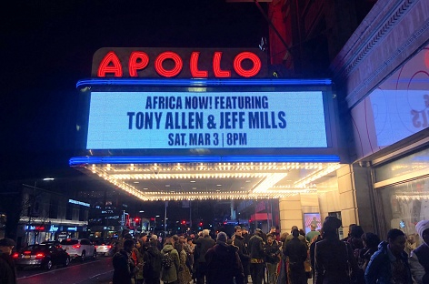 Jeff Mills and Tony Allen at Apollo Theater