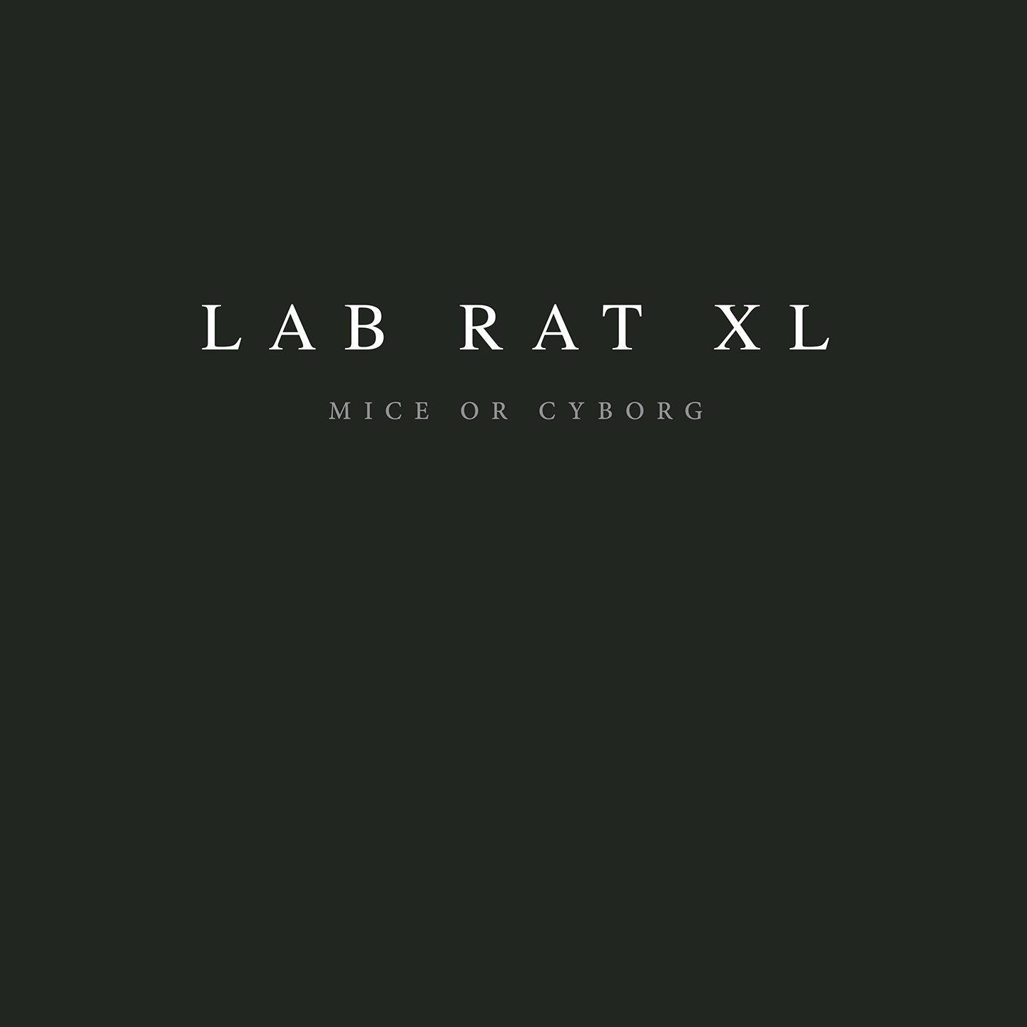 Lab Rat XL ‎- Mice Or Cyborg