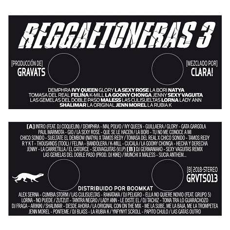 RA Reviews: Clara! - Reggaetoneras 3 on Editions Gravats