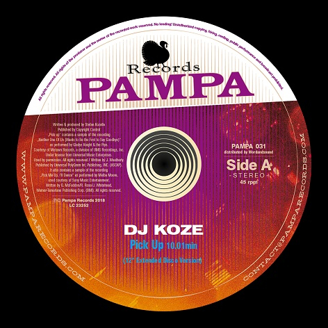 DJ Koze ‎- Pick Up