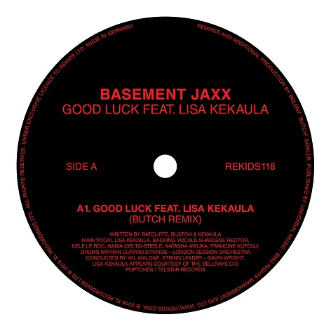 Basement Jaxx - Good Luck (Butch Remix)