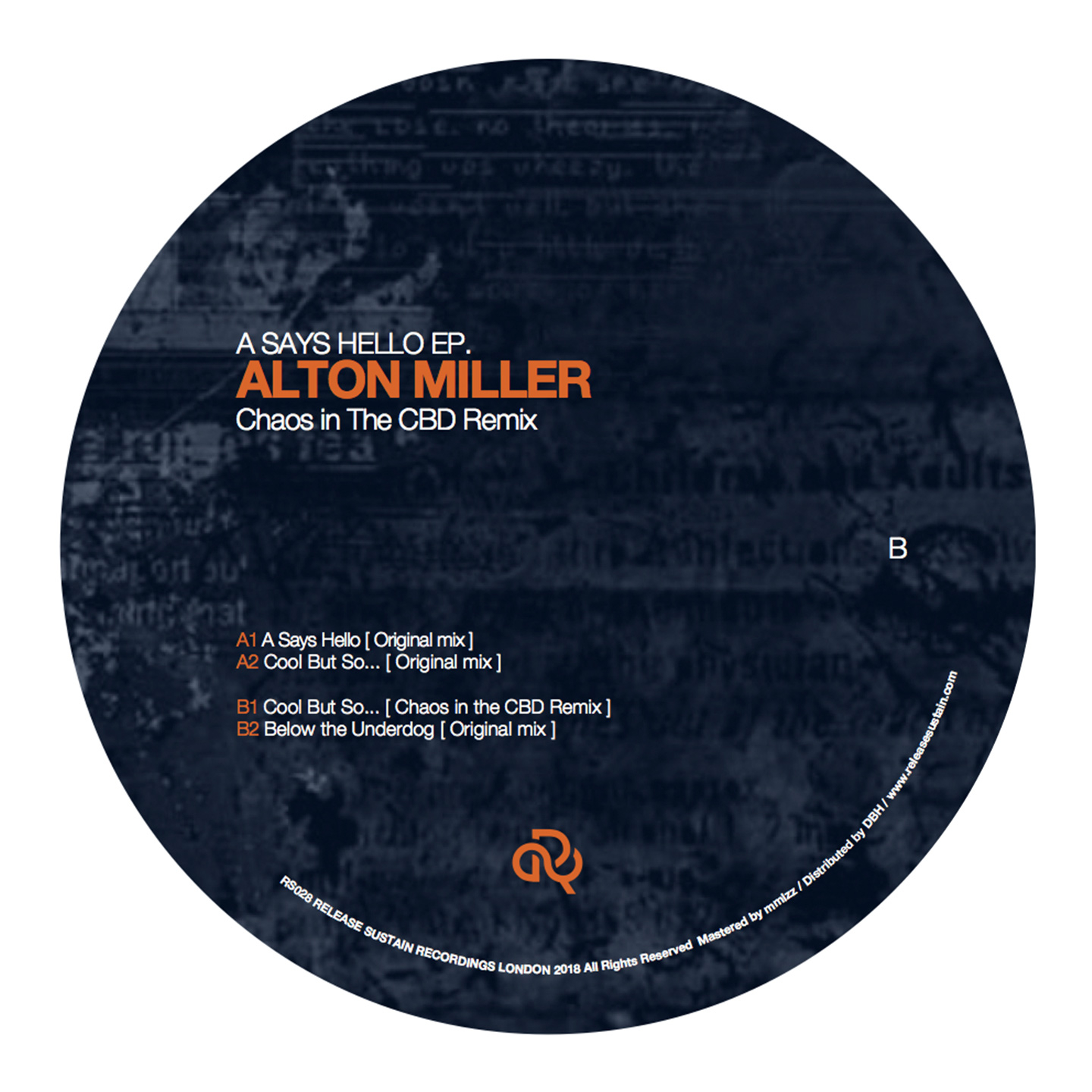 Alton Miller - A Says Hello