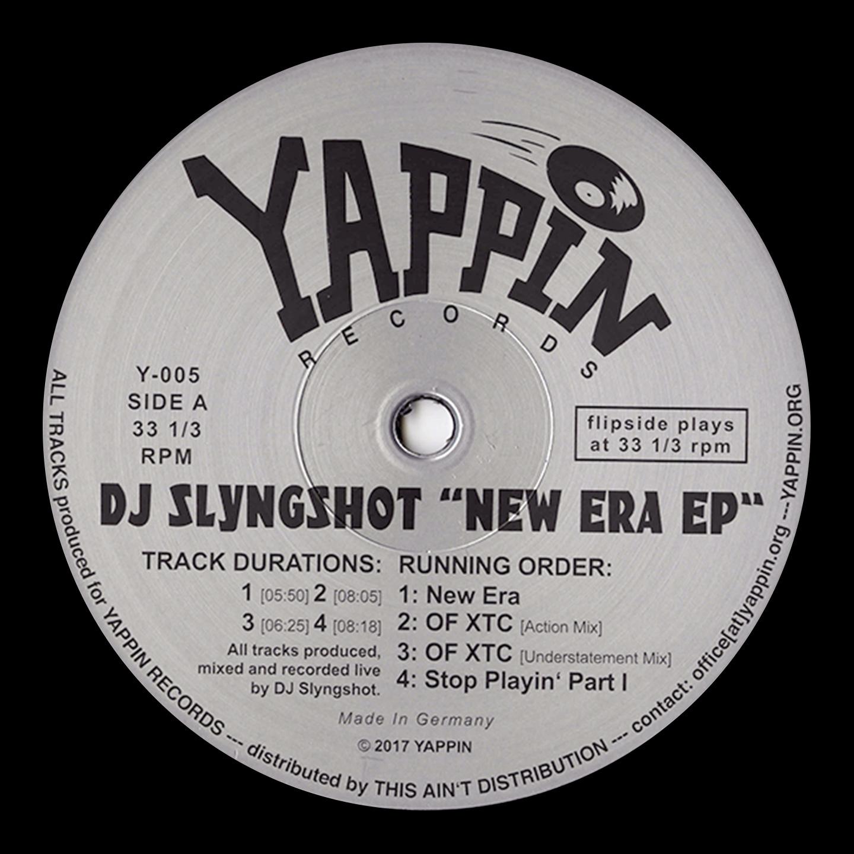 DJ Slyngshot - New Era EP