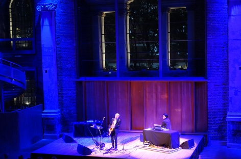 Yasuaki Shimizu and Carl Stone in London