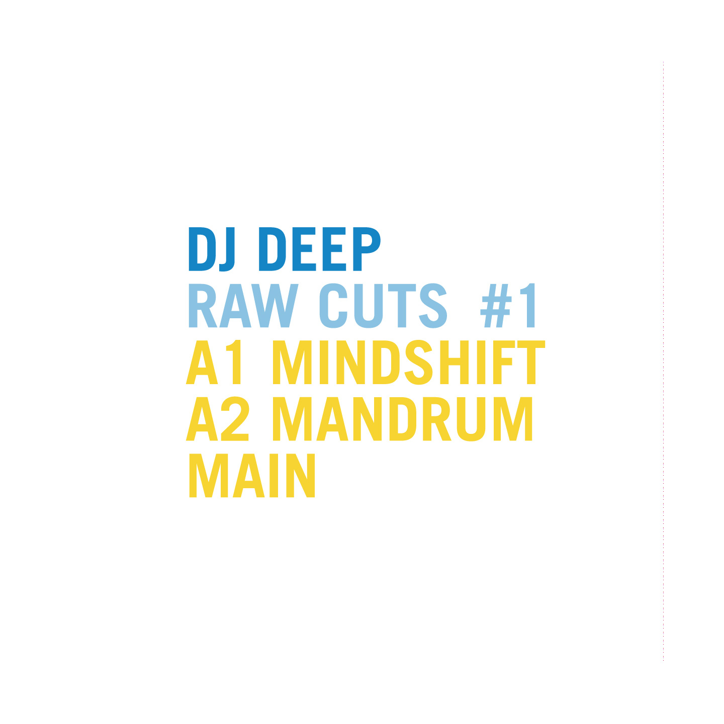 DJ Deep - Raw Cuts Vol.1